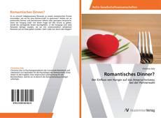 Bookcover of Romantisches Dinner?