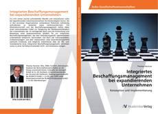 Capa do livro de Integriertes Beschaffungsmanagement bei expandierenden Unternehmen