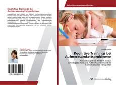 Buchcover von Kognitive Trainings bei Aufmerksamkeitsproblemen