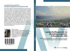 Buchcover von Landschaftswandel im Biosphärengebiet-Schwäbische Alb