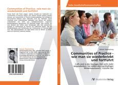 Buchcover von Communities of Practice - wie man sie wiederbelebt und fortführt