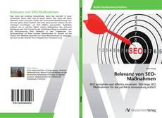 Bookcover of Relevanz von SEO-Maßnahmen