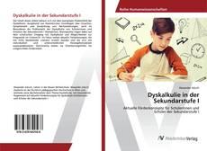 Bookcover of Dyskalkulie in der Sekundarstufe I