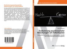 Обложка Evaluierung psychosozialer Belastungen am Arbeitsplatz
