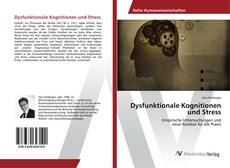 Bookcover of Dysfunktionale Kognitionen und Stress