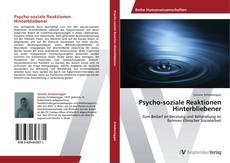 Portada del libro de Psycho-soziale Reaktionen Hinterbliebener