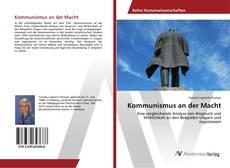 Portada del libro de Kommunismus an der Macht