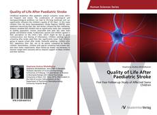 Обложка Quality of Life After Paediatric Stroke