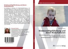Обложка Kindeswohlgefährdung und deren Risikofaktoren