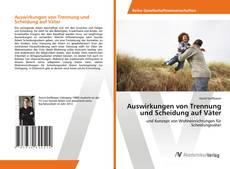 Bookcover of Auswirkungen von Trennung und Scheidung auf Väter