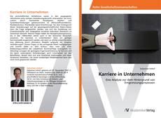 Buchcover von Karriere in Unternehmen
