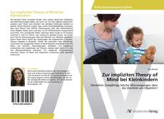 Buchcover von Zur impliziten Theory of Mind bei Kleinkindern
