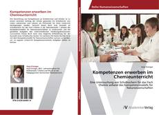 Buchcover von Kompetenzen erwerben im Chemieunterricht
