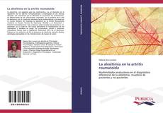 Bookcover of La alexitimia en la artritis reumatoide