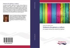 Bookcover of Violencia de género y cultura