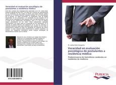 Buchcover von Veracidad en evaluación psicológica de postulantes a residencia médica