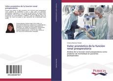 Portada del libro de Valor pronóstico de la función renal preoperatoria