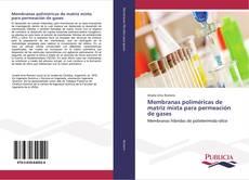 Portada del libro de Membranas poliméricas de matriz mixta para permeación de gases