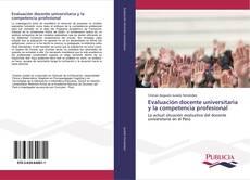 Portada del libro de Evaluación docente universitaria y la competencia profesional