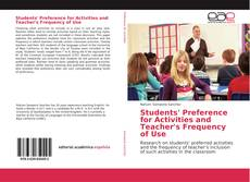 Couverture de Students' Preference for Activities and Teacher's Frequency of Use