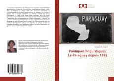 Capa do livro de Politiques linguistiques: Le Paraguay depuis 1992