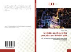 Capa do livro de Méthode combinée des perturbations HPM et VIM