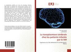 Portada del libro de La toxoplasmose cérébrale chez les patients infectés par le VIH