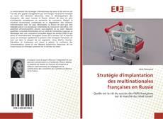Bookcover of Stratégie d'implantation des multinationales françaises en Russie