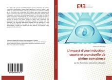 Buchcover von L'impact d'une induction courte et ponctuelle de pleine conscience
