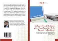Buchcover von La Formation à Distance pour l'Amélioration de la Formation Continue