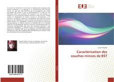 Обложка Caractérisation des couches minces de BST