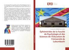 Обложка Éphémérides de la Faculté de Psychologie et des Sciences de l'Éducation de l'Université de Lubumbashi