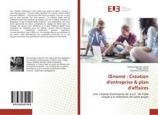 Bookcover of Œnomé : Création d'entreprise & plan d'affaires