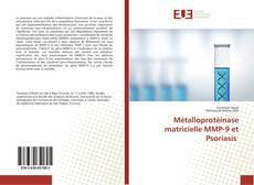 Capa do livro de Métalloprotéinase matricielle MMP-9 et Psoriasis