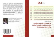 Etude comparative de la morphologie nominale de six langues sénoufo的封面