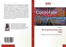 Borítókép a  De la gouvernance des PME - hoz