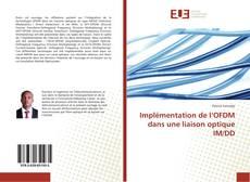 Couverture de Implémentation de l'OFDM dans une liaison optique IM/DD