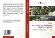 Bookcover of Conception des Ambiances urbaines de qualité