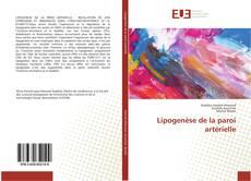 Bookcover of Lipogenèse de la paroi artérielle