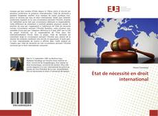 Borítókép a  État de nécessité en droit international - hoz