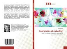 Bookcover of Enonciation et abduction