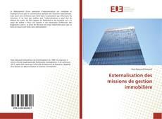Bookcover of Externalisation des missions de gestion immobilière