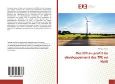 Copertina di Des IER au profit du développement des TPE en Haïti