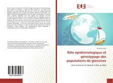 Couverture de Rôle épidémiologique et génotypage des populations de glossines