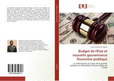 Budget de l'Etat et nouvelle gouvernance financière publique kitap kapağı