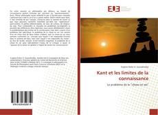 Kant et les limites de la connaissance kitap kapağı