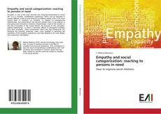 Empathy and social categorization: reacting to persons in need kitap kapağı