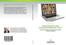 Bookcover of Электронный курс тепломассообмена. Том 1