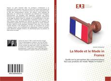 Bookcover of La Mode et le Made in France
