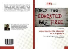 Couverture de L'enseignement à distance et le supérieur